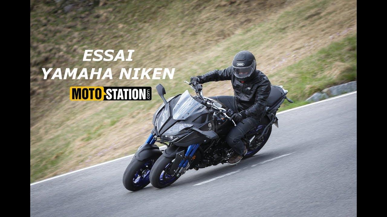 Essai Yamaha Niken Surprenant Ovni à 3 Roues Youtube