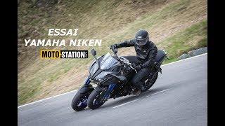 Essai Yamaha Niken : Surprenant OVNI à 3 roues !