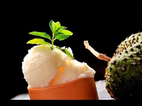 Helado de guanábana - Soursop Ice Cream - YouTube