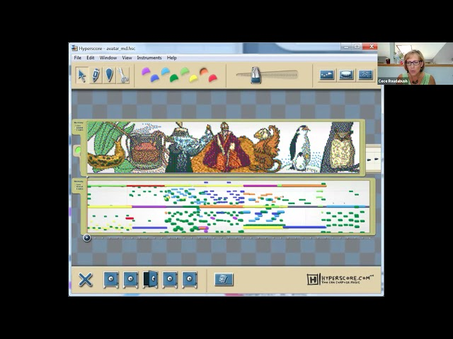 Hyperscore and ART collaboration!