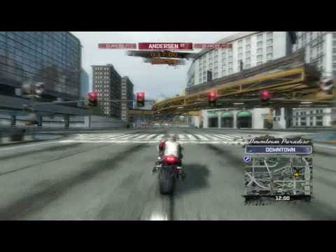 BURNOUT PARADISE THE ULTIMATE BOX - BIKE GAMEPLAY PC 8800GT XFX