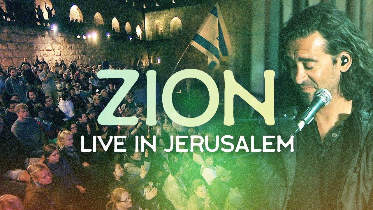 Download ZION (Live in Jerusalem) Aaron Shust