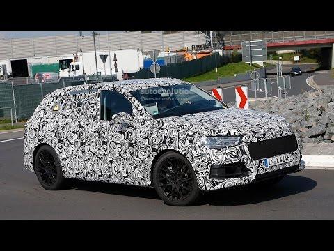 2016 Audi Q7 e-tron Plug-in Hybrid Spyshots