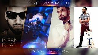 Dj Bobby - The War Of Diss | Imran Khan X Kamal Raja X Sama Blake X Tymore | Diss Mashup | FHD 2019