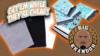 Custom Mailers and New T Shirt Prices