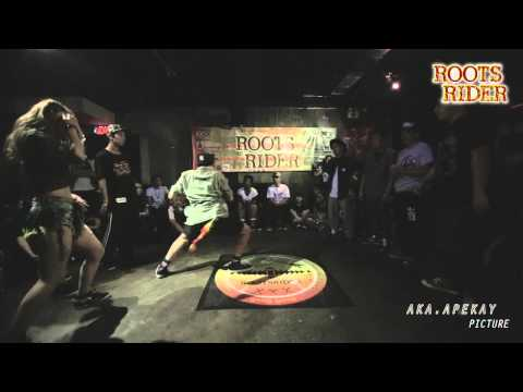 Rootsrider Dancehall Event - Allstyle 4on4 Best 8 Macau Union Allstyle VS Organic Flavor