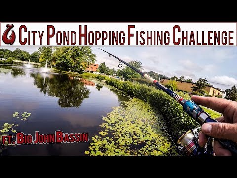 City Pond Hopping Bass Fishing Challenge With Subscriber! (Nashua NH)(Hilarious)