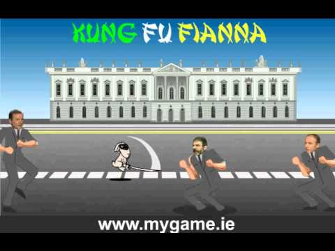 Gerry Adams in action in Ireland's 2011 political election game