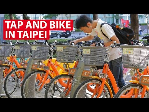 Tap and Bike in Taipei | It Figures | CNA Insider