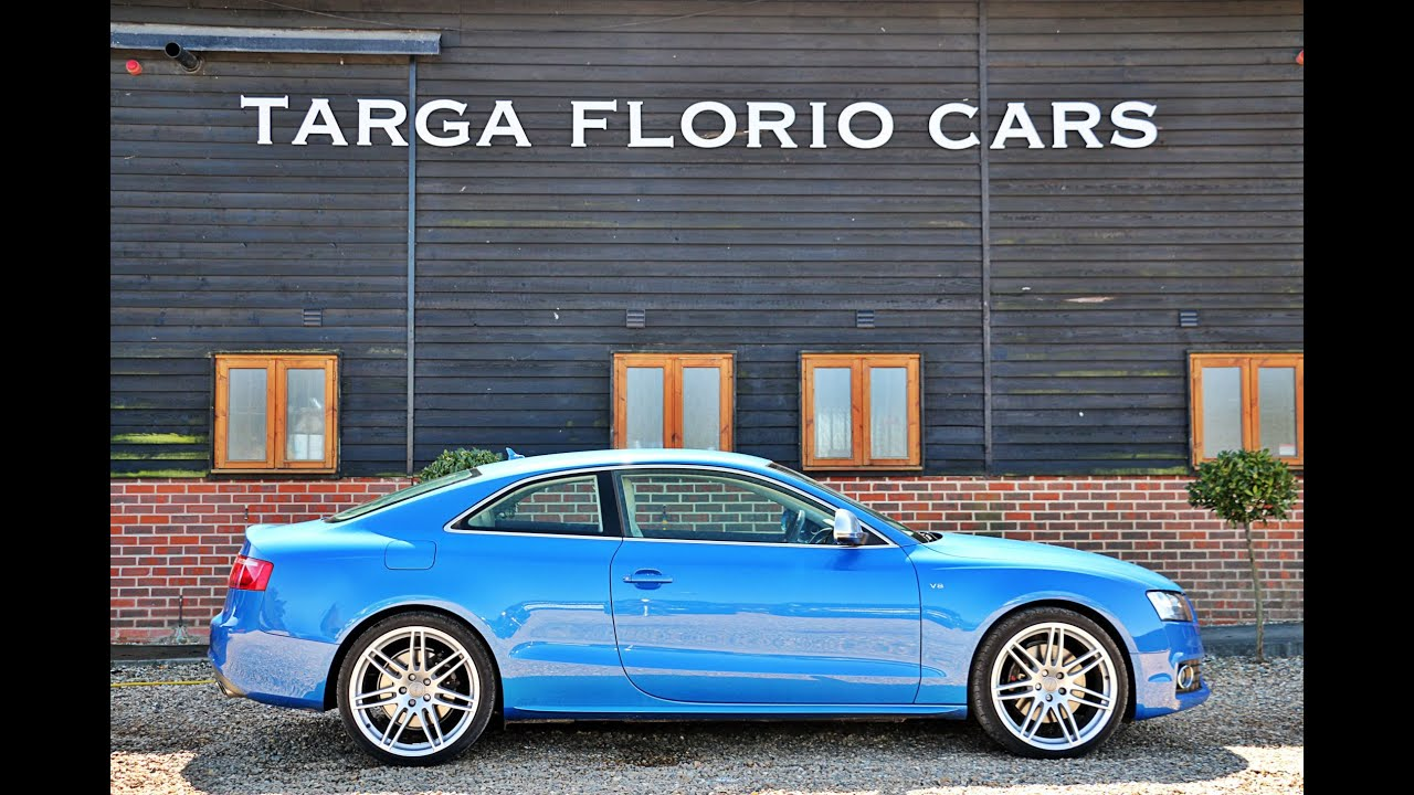 Audi S5 4 2 V8 Quattro Coupe Automatic Finished In Sprint
