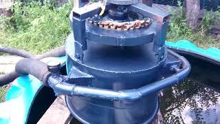 Гидротурбина на мини ГЭС .от Игоря Лотц