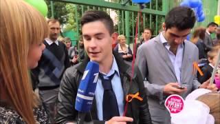 Острый репортаж с Аллой Михеевой   Школьная линейка 1 сентября