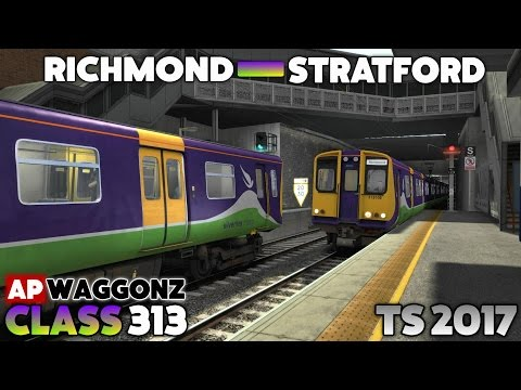 Train Simulator 2017 - APW Class 313: Richmond to Stratford