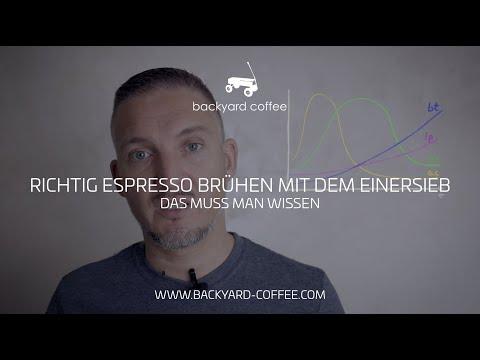 Richtig Espresso brühen