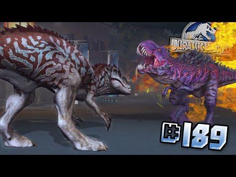 OMEGA T.REX BATTLE!!  || Jurassic World - The Game - Ep189 HD