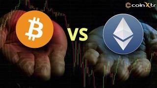 Ethereum piyasa değeriyle Bitcoin'i geçebilir!