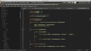 Sublime Text 2 For PHP Development: Software Archaeology Using CTags