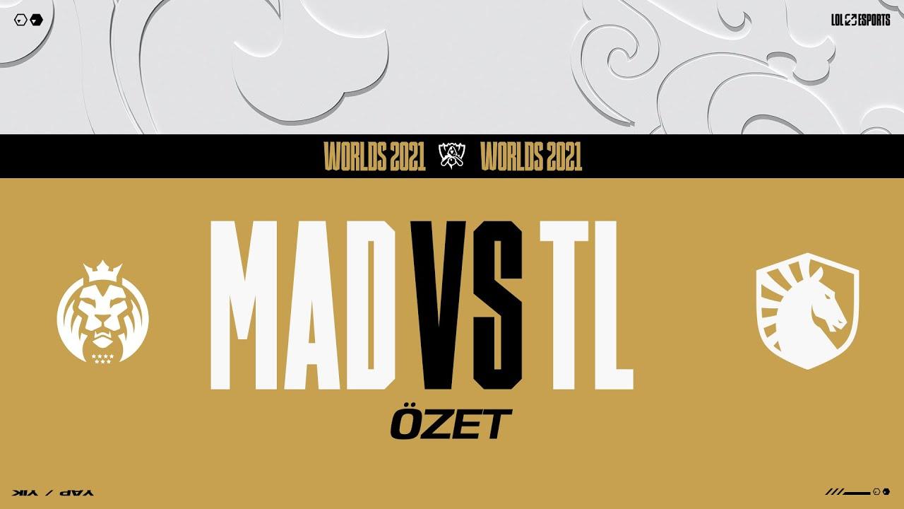 Download MAD Lions (MAD) vs Team Liquid (TL) Maç Özeti | Worlds 2021 Grup Aşaması 7. Gün