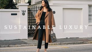 The Curated Camel Coat Review   Sustainable, Slow Fashion Luxury