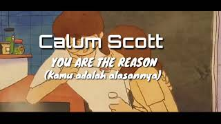 Calum Scott -You Are The Reason -Lyrics Animation (Terjemahan Indonesia)