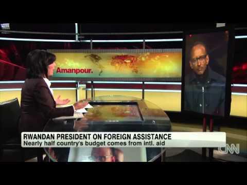 Paul Kagame Speaks About Rwanda's Role in Congo's Conflict - CNN - Amanpour - Jan 28, 2013