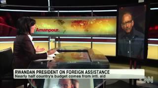 Paul Kagame Speaks About Rwanda