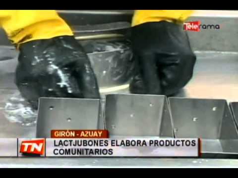 Lactjubones elabora productos comunitarios