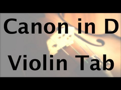 Learn Pachelbels Canon in D on Violin  How to Play Tutorial