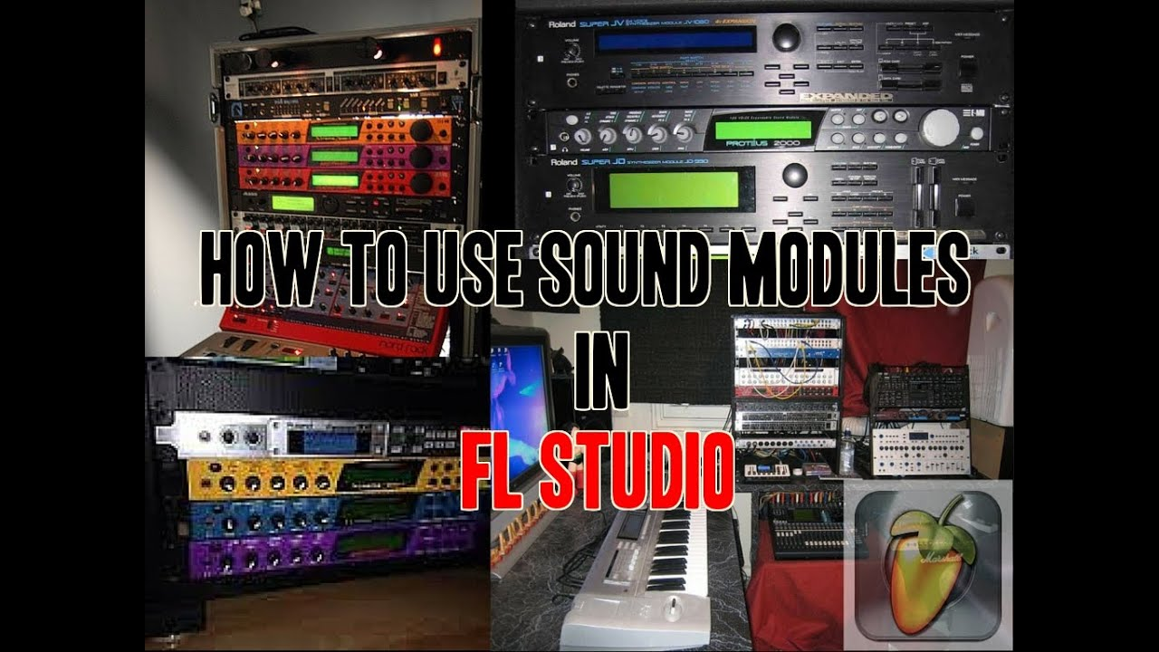 How to use sound modules in FL12 via Midi Out