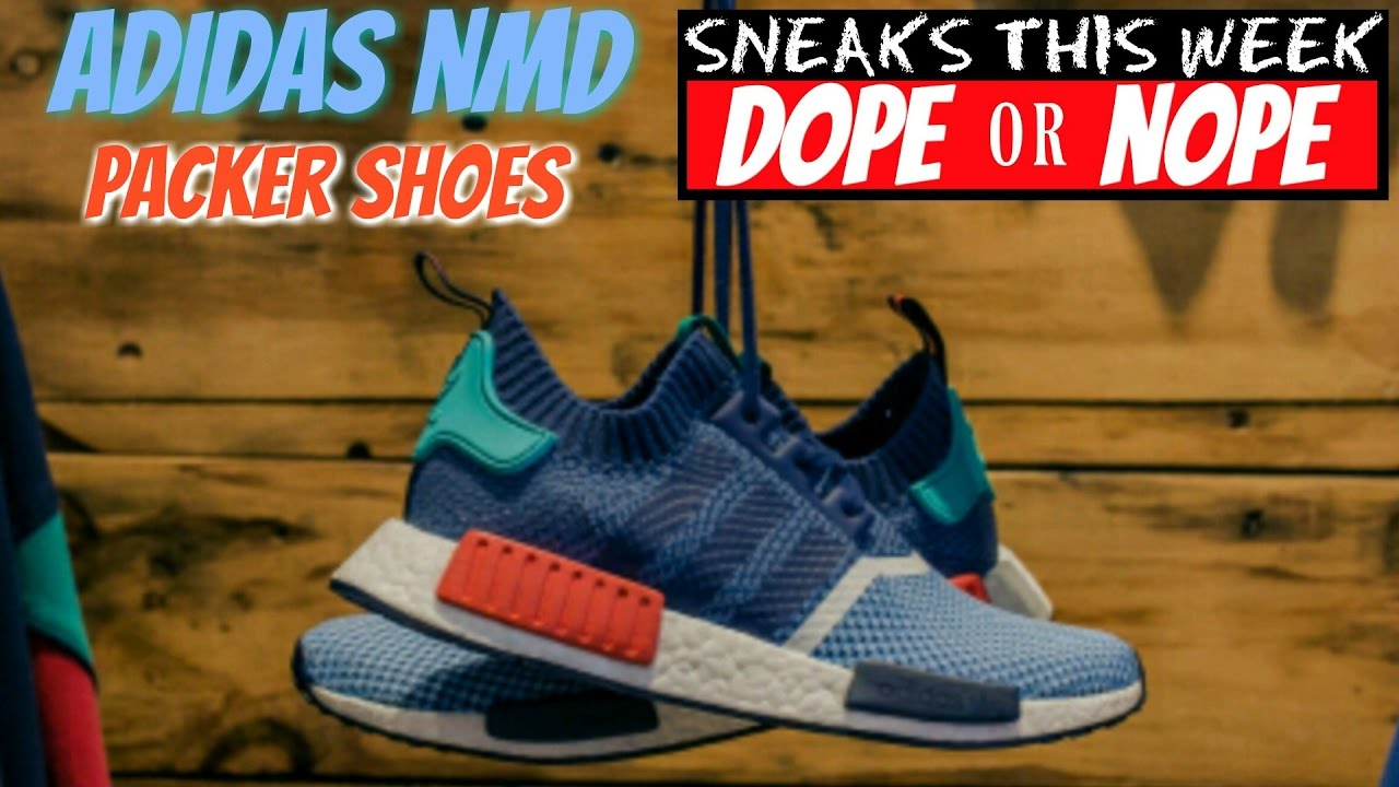 16379d50a NMD Collaboration between Packer Shoes and Adidas! - YouTube