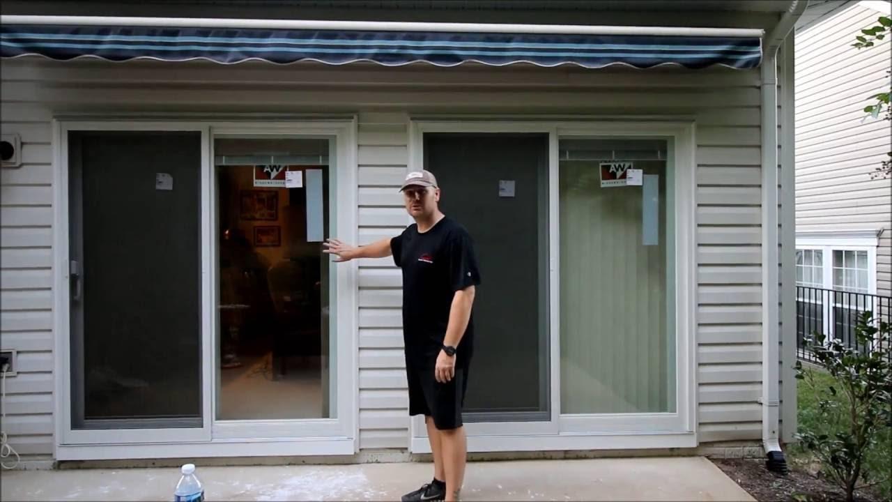 Anderson Sliding Glass Door Install Fairfax Station Va Youtube