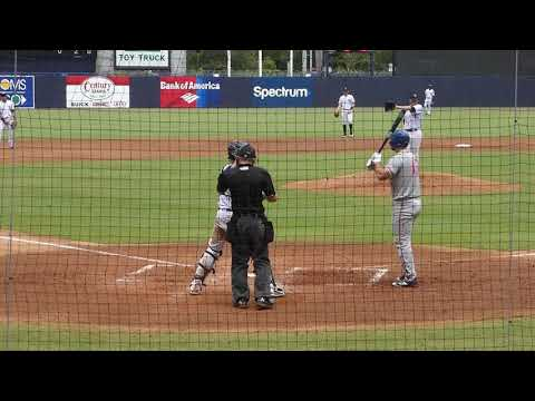 Taylor  Widener Yankees  Pitching  to Mets  Tim Tebow  8/13/2017