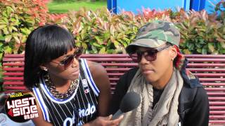 (Monie Love) Westside TV Interviews Monie Love