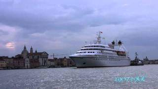 The Yachts  of Seabourn Spirit ( Luxury Cruises)  venice 10/06/2011