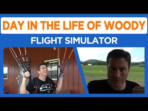 Flight Simulator Paramotor Training #53