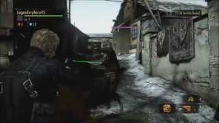 Resident Evil Revelations 2 - Raid Mode Wesker & HUNK Gameplay