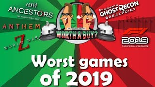 Worst Games of 2019 - Bells, Horns and bleeps!