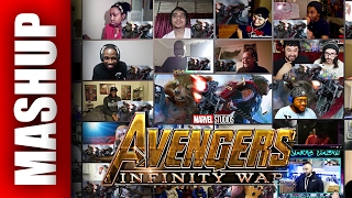 Avengers: INFINITY WAR First Look Reactions Mashup