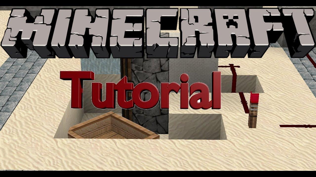 Schalter verstecken / BUD Switch - Wunschtutorial [Minecraft] - YouTube