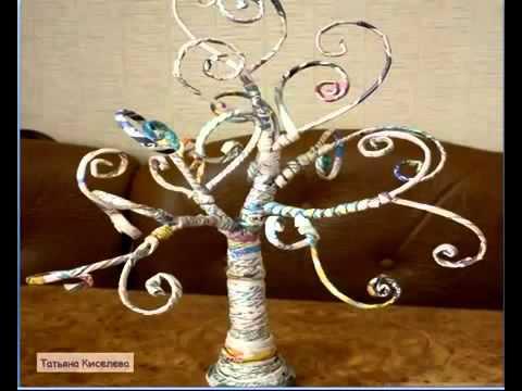 дерево фото руками своими из бумаги