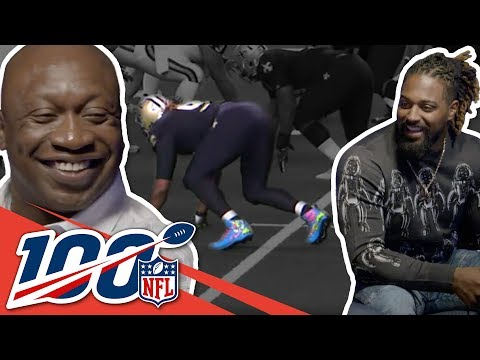 John Randle & Cameron Jordan Compare Lineman Interceptions! | NFL 100 Generations