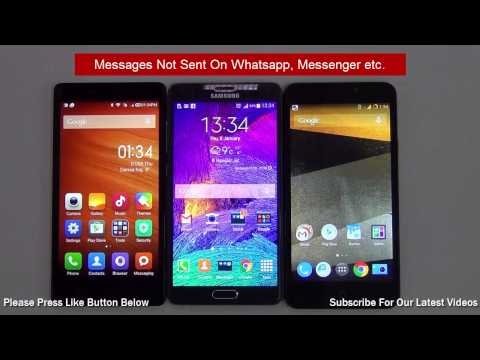 Android Troubleshooting- Whatsapp, Messenger, WeChat Messages Not Sent On Android Phone
