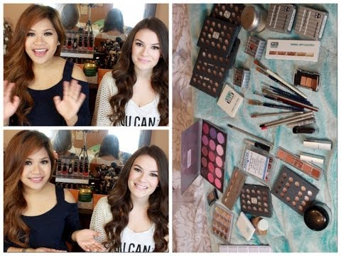 ♡$800 of makeup for $60!! :O Kryolan Bag Sale Haul (Ft. Danimirandabeauty)♡ Travel Video