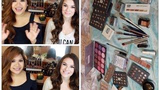 HAUL: $800 of makeup for $60!! Kryolan Bag Sale Haul (Ft. Danimirandabeauty)   makeupbyritz