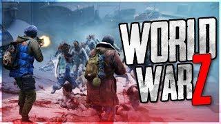 ИДЕАЛЬНАЯ КОМАНДА! - World War Z - ПОЛНОЕ ПРОХОЖДЕНИЕ #3