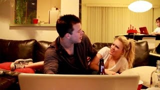 Emily Osment & Jimmy Tatro - Drunk Questions (NEW VIDEO)