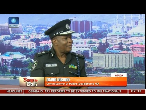 Police Files Court Case Against The National Assembly Pt 3   Sunrise Daily  