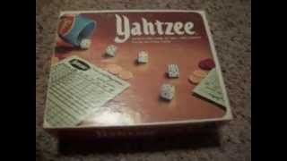 1978 Yahtzee Game New in Box! Has never been played