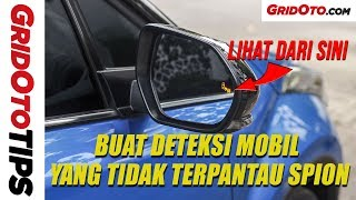 Fitur Blind Spot Monitor Toyota C-HR | GridOto Tips
