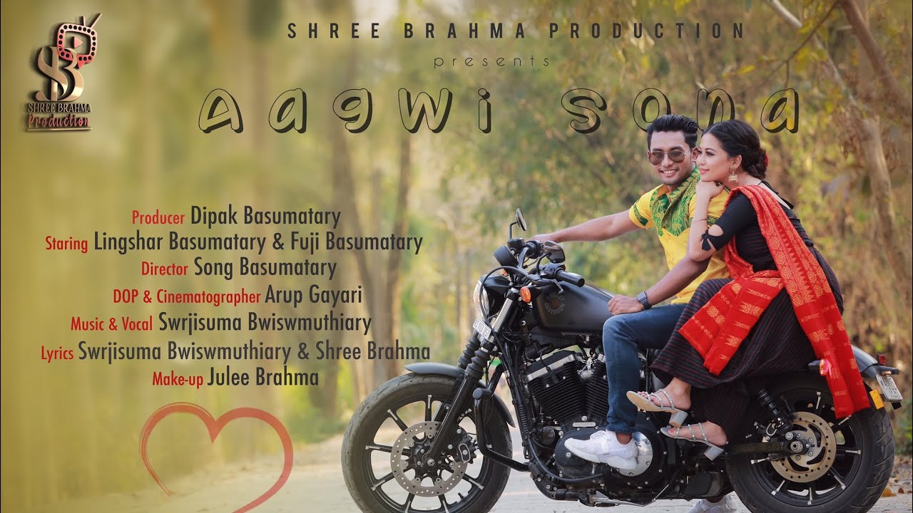 Download Aagwi Sona [Official Bodo Bwisagu  music video Teaser 2020]  Ft. Lingshar &  Fuji